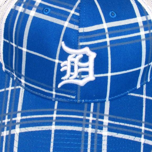 1881d33c2 DETROIT PLAID BASEBALL CAP